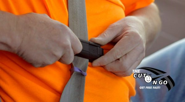 Your Seat Belt Will Never Curl with The Cut N Go